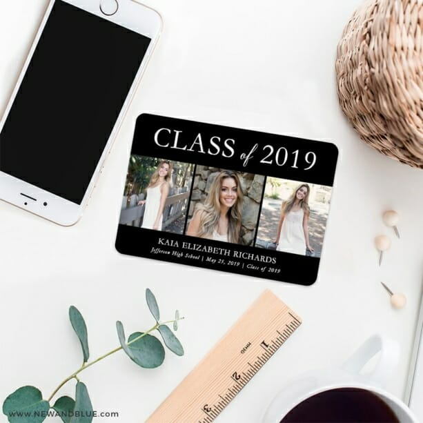 Graduation Collage 7 Wedding Save The Date Magnets
