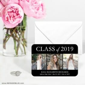 Graduation Collage 6 Wedding Save The Date Magnets