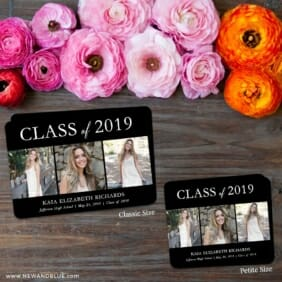 Graduation Collage 2 Save The Date Magnet Classic And Petite Size