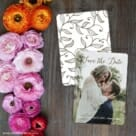 Someone Like You Save The Date Card With Back Printing