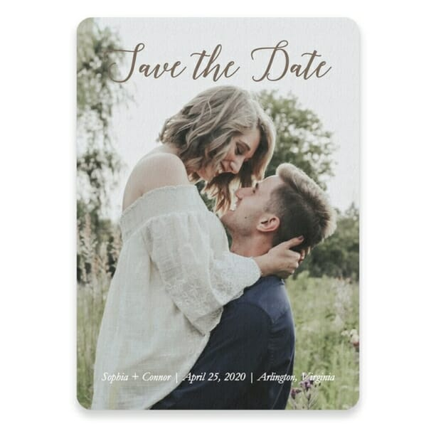 Someone Like You Save The Date Postcards