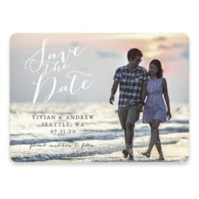 Always Yours Save The Date Postcards