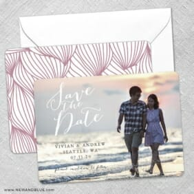 Always Yours Save The Date Wedding Card