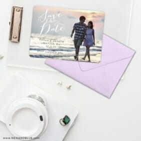 Always Yours Save The Date Cards And Optional Color Envelopes