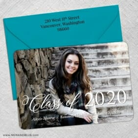 Head Of The Class 5 Save The Date With Optional Color Envelope