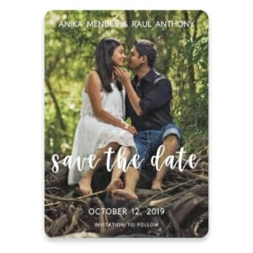 Bliss Save The Date Postcards