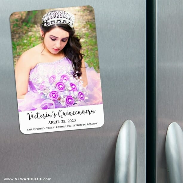 Victoria 3 Refrigerator Save The Date Magnets