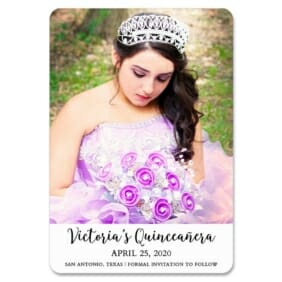 Victoria 1 Save The Date Magnets