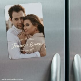 Simply Us 3 Refrigerator Save The Date Magnets