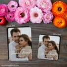 Simply Us 2 Save The Date Magnet Classic And Petite Size