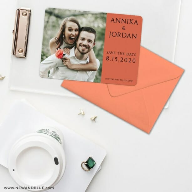 Dreams Nb Save The Date Cards And Optional Color Envelopes