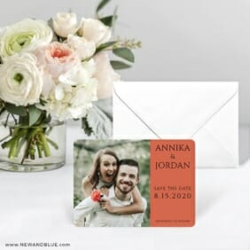Dreams Nb Save The Date Card With Envelope