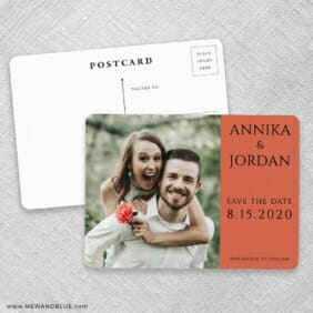 Dreams Nb Save The Date Postcards No Envelope Needed