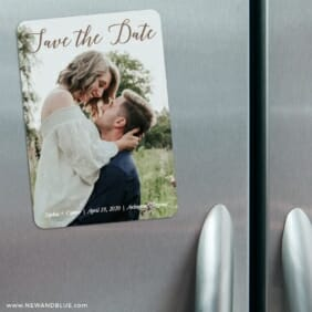 Someone Like You 3 Refrigerator Save The Date Magnets