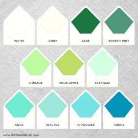 Envelope Liner Color Option 3