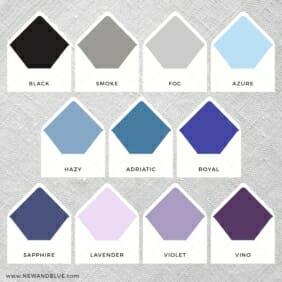 Envelope Liner Color Option 2