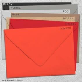 Envelope Colors Matte