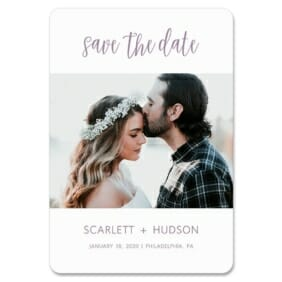 Sweet Romance 1 Save The Date Magnets