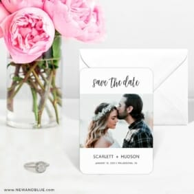 Sweet Romance 6 Wedding Save The Date Magnets