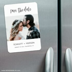 Sweet Romance 3 Refrigerator Save The Date Magnets