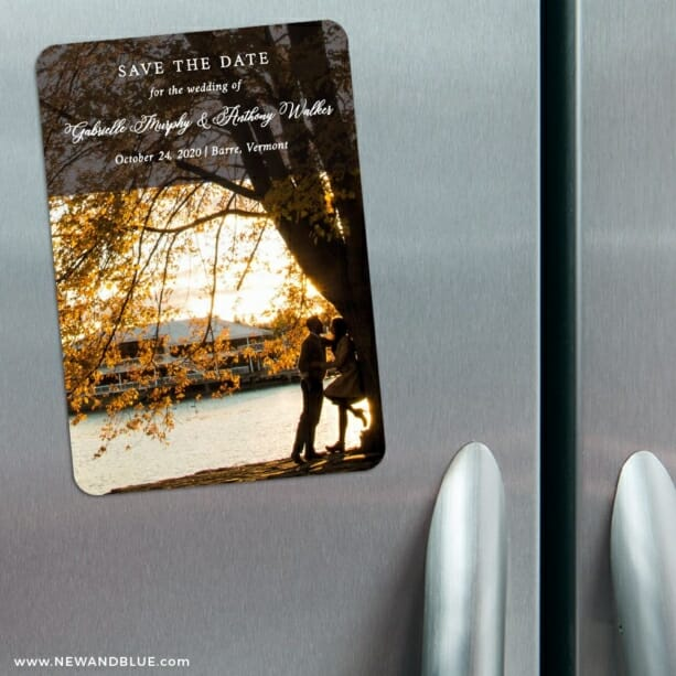 Devoted To You 3 Refrigerator Save The Date Magnets
