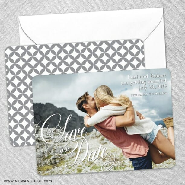 Dublin Nb Save The Date Wedding Card
