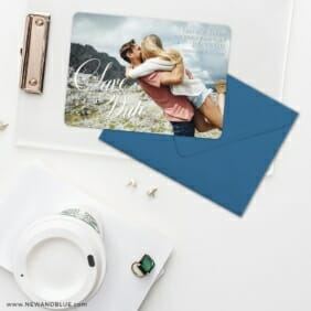 Dublin Nb Save The Date Cards And Optional Color Envelopes