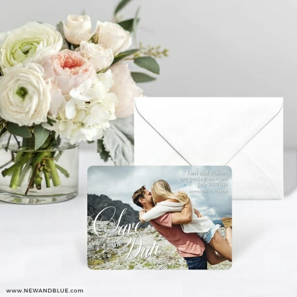 Dublin Nb Save The Date Card With Envelope