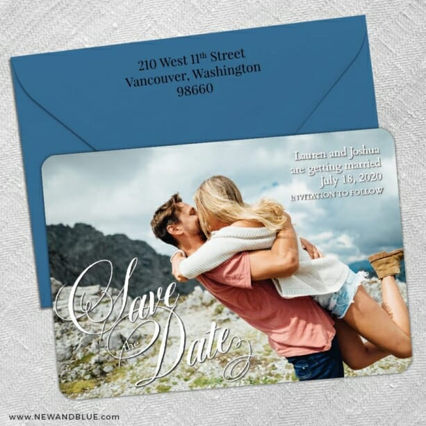 Dublin Nb1 5 Save The Date With Optional Color Envelope