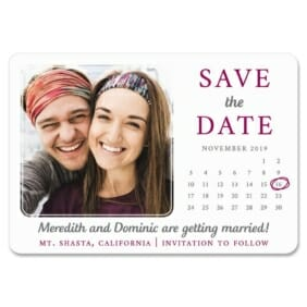Calendar Couple Nb1 1 Save The Date Magnets