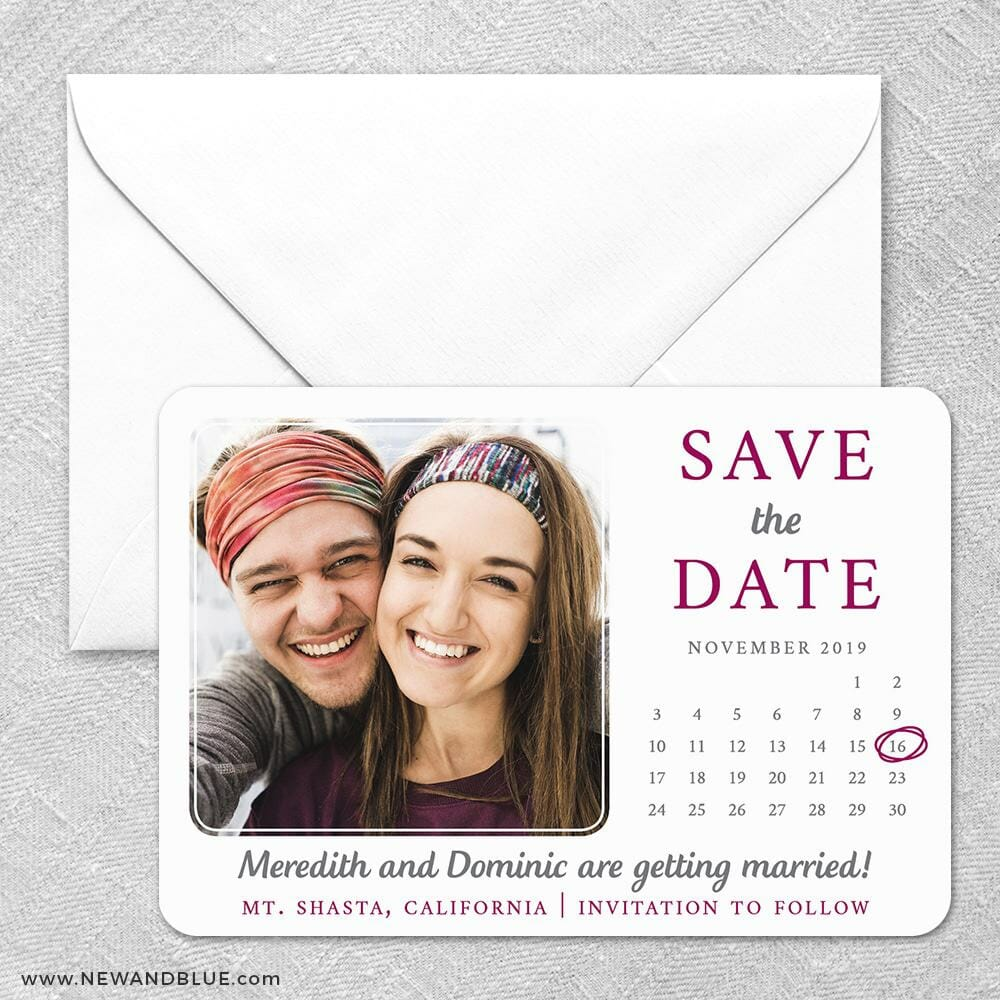 Calendar Couple Nb1 Classic Size