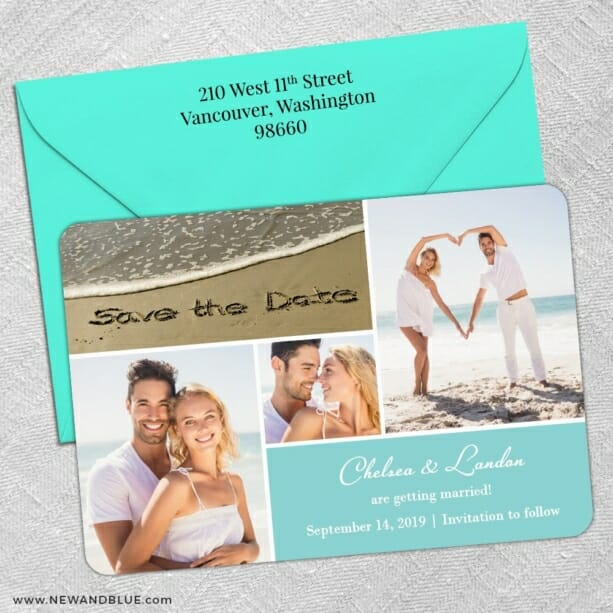Imagine Nb 5 Save The Date With Optional Color Envelope