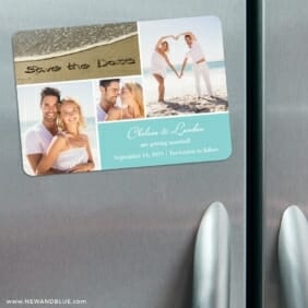 Imagine Nb 3 Refrigerator Save The Date Magnets