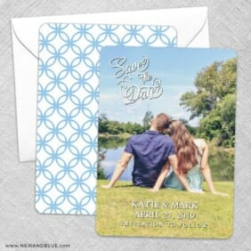 Amsterdam Nb Save The Date Wedding Card