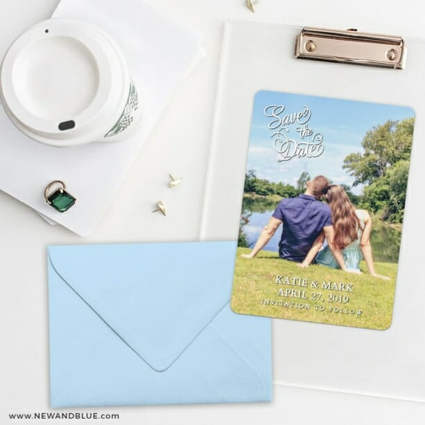 Amsterdam Nb Save The Date Cards And Optional Color Envelopes