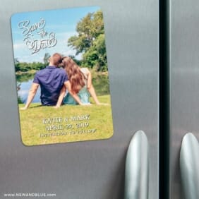 Amsterdam Nb 3 Refrigerator Save The Date Magnets
