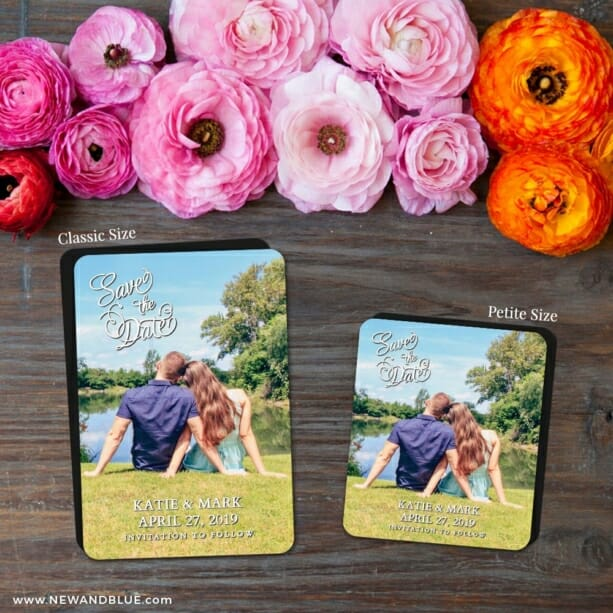 Amsterdam Nb 2 Save The Date Magnet Classic And Petite Size