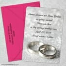 With This Ring Nb 5 Save The Date With Optional Color Envelope