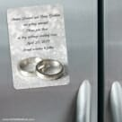 With This Ring Nb 3 Refrigerator Save The Date Magnets