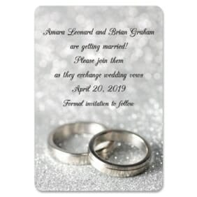 With This Ring Nb 1 Save The Date Magnets