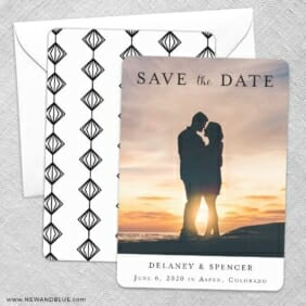 Cherished Save The Date Wedding Card