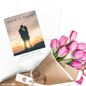 Cherished Save The Date Cards With Envelope