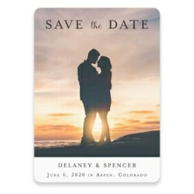 Cherished Save The Date