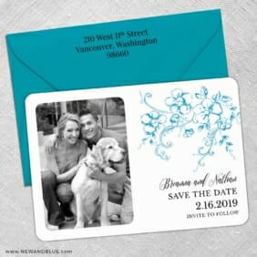 Abbey Road Nb 5 Save The Date With Optional Color Envelope