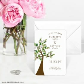 Wedding Tree Nb 6 Wedding Save The Date Magnets