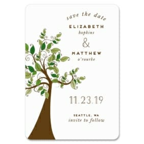 Wedding Tree Nb 1 Save The Date Magnets