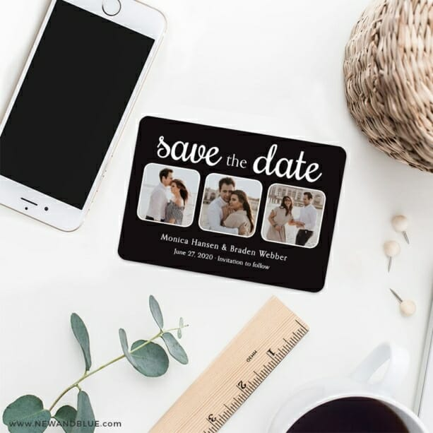 Live And Laugh Nb 7 Wedding Save The Date Magnets
