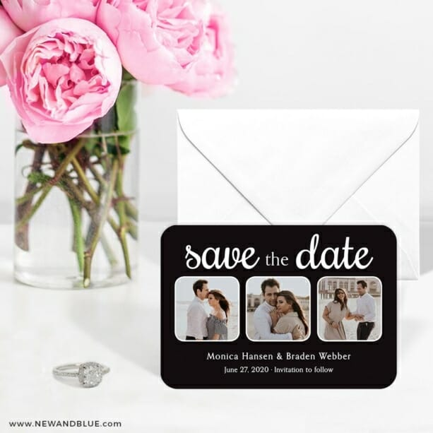 Live And Laugh Nb 6 Wedding Save The Date Magnets