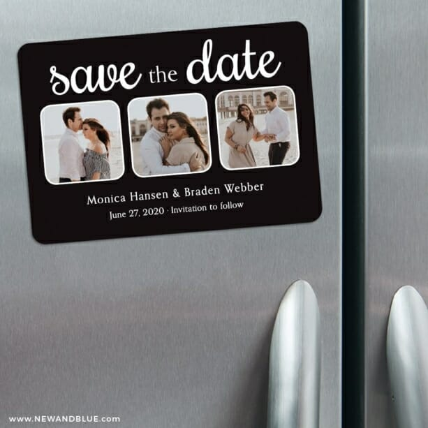 Live And Laugh Nb 3 Refrigerator Save The Date Magnets