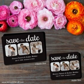 Live And Laugh Nb 2 Save The Date Magnet Classic And Petite Size